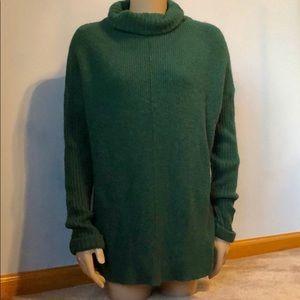 Nordstrom Olive + Oak Turtleneck Ribbed Sweater